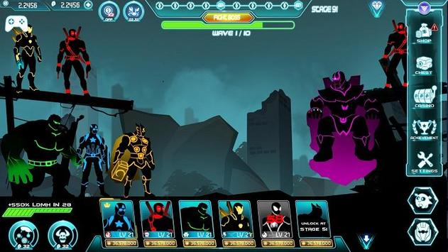 Stickman Avengers: Superhero screenshot 11