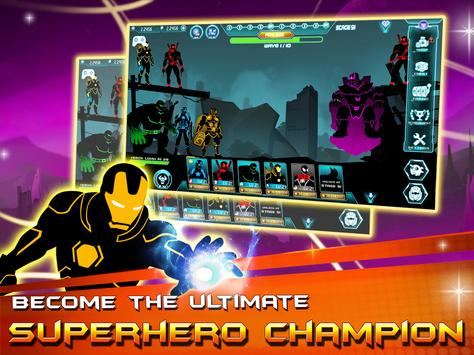 Stickman Avengers: Superhero screenshot 7