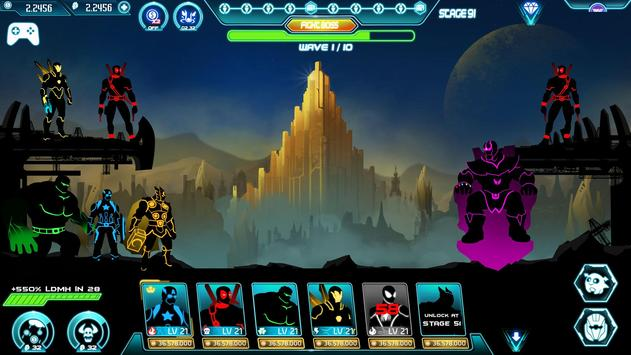 Stickman Avengers: Superhero screenshot 8
