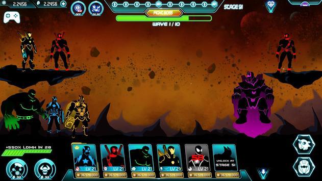 Stickman Avengers: Superhero screenshot 9