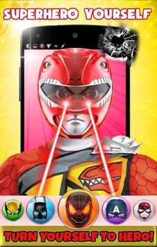 Superhero Face Mask Photo Editor screenshot 4