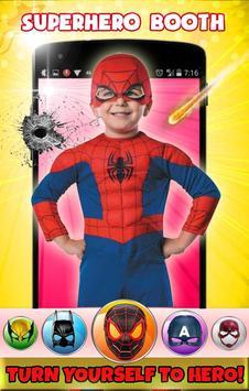 Superhero Face Mask Photo Editor poster