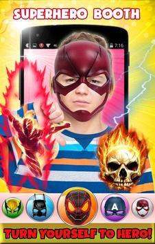 Superhero Face Mask Photo Editor screenshot 3