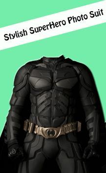 Superhero Photo Suits Editor poster