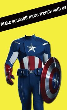 Superhero Photo Suits Editor screenshot 3