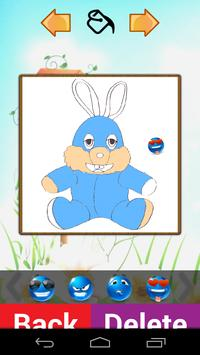 Cute Doll Coloring Book poster