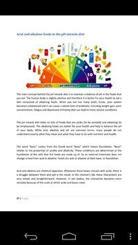 Complete Guide pH Miracle Diet apk screenshot