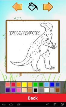 Jurassic Dino Coloring Book apk screenshot