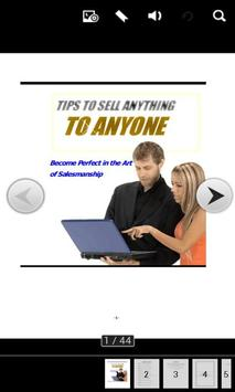 Tips Sell Anything To Anyone poster