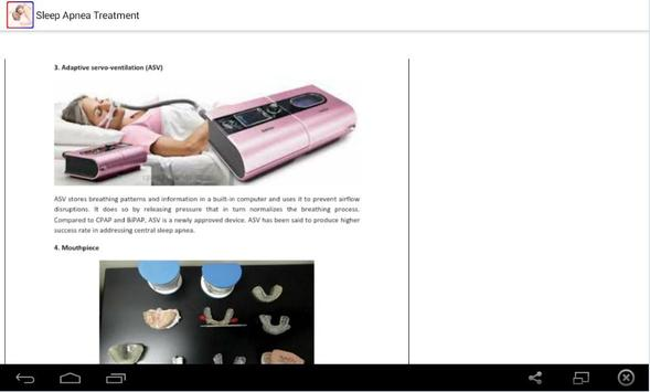 Sleep Apnea Treatment apk screenshot