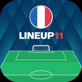 ラインアップ11 - サッカーフォーメーション アイコン