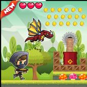 Super jungle adventure ninja icon