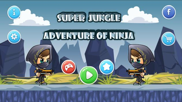 Super jungle adventure ninja poster