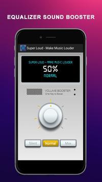 Super Loud - Make Music Louder apk screenshot
