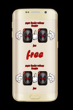 Super Louder Volume Booster Free poster