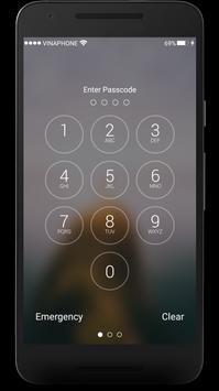 Lockscreen for iPhone 7 Plus apk screenshot