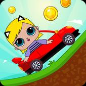 Super Lol Hill Car dolls Free icon