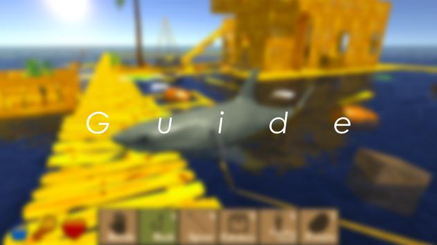 Guide for Raft Survival Free poster