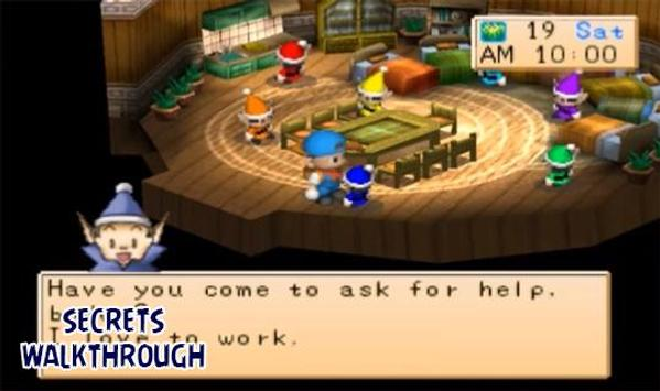 Harvest Moon Back To Nature Walkthrough for Android - APK