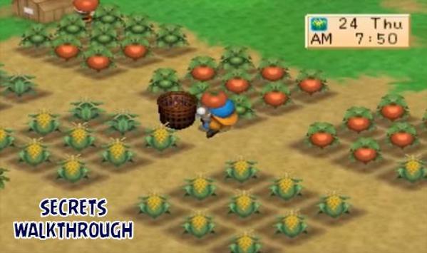 Harvest Moon Back To Nature Walkthrough cho Android - Tải về APK