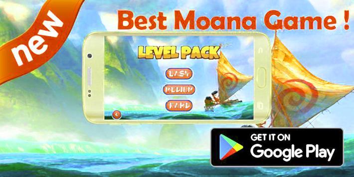 Super Princess Moa Run Game poster
