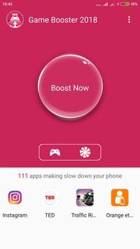 Game booster Cpu cooler 2018 screenshot 1