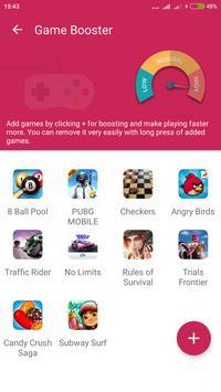 Game booster Cpu cooler 2018 screenshot 2