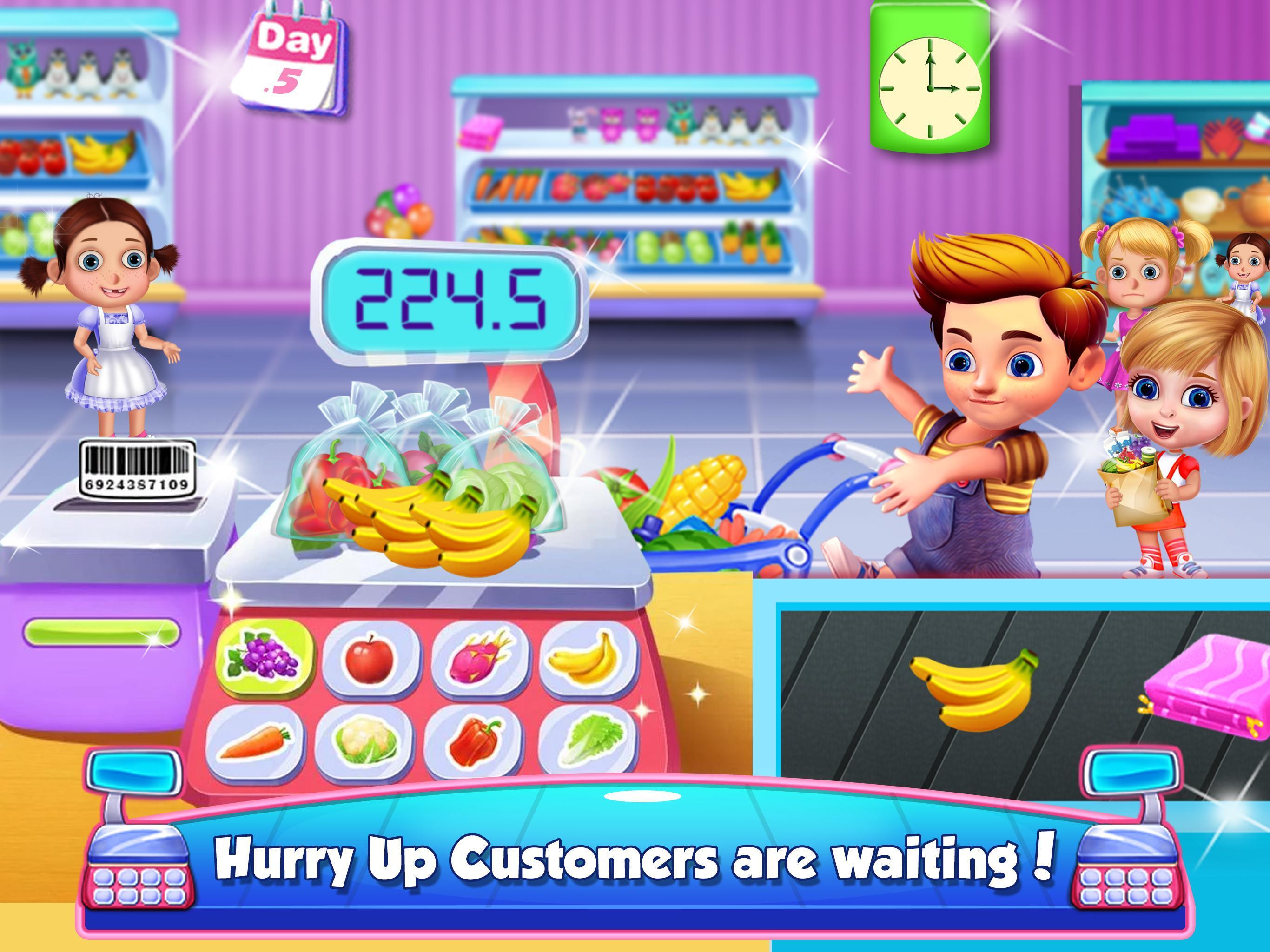 Shopping Girl Games for Kids poster