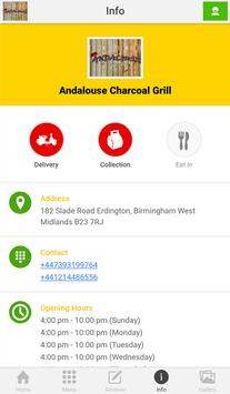 Andalouse Charcoal Grill Bham screenshot 2