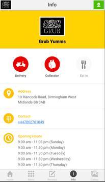 Grub Yumms UK apk screenshot