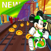 mickey subway run icon