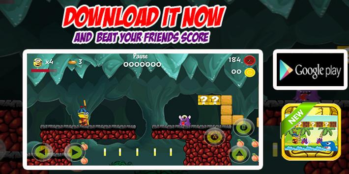 Super Minion Run Adventure apk screenshot