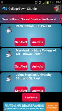 CollegeTown Shuttle : Maryland screenshot 1