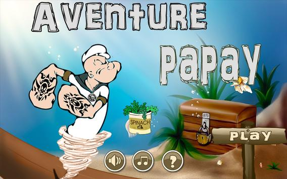Papay Aventure Run 2016 poster