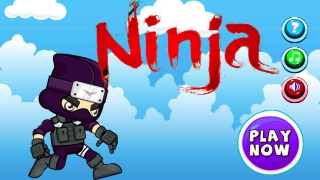 Jungle Ninja Running poster