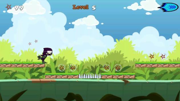 Jungle Ninja Running apk screenshot