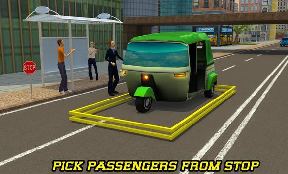 City Tuk Tuk Rickshaw Parking screenshot 4
