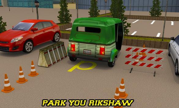 City Tuk Tuk Rickshaw Parking screenshot 6