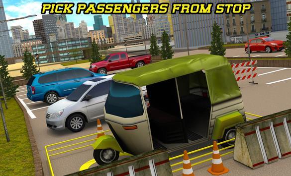 City Tuk Tuk Rickshaw Parking screenshot 10