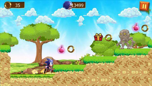 super sonic new adventure apk screenshot