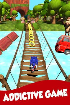 Sonic speed : BOOM runners game screenshot 1