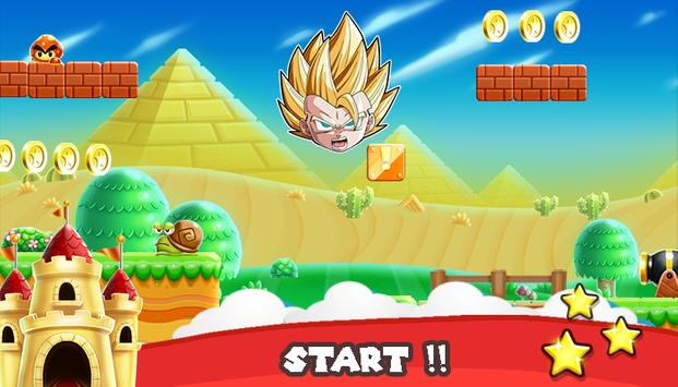 Super Saiyan Battle Goku Dragon apk screenshot
