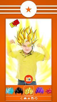 Super Saiyan Hair Camera poster