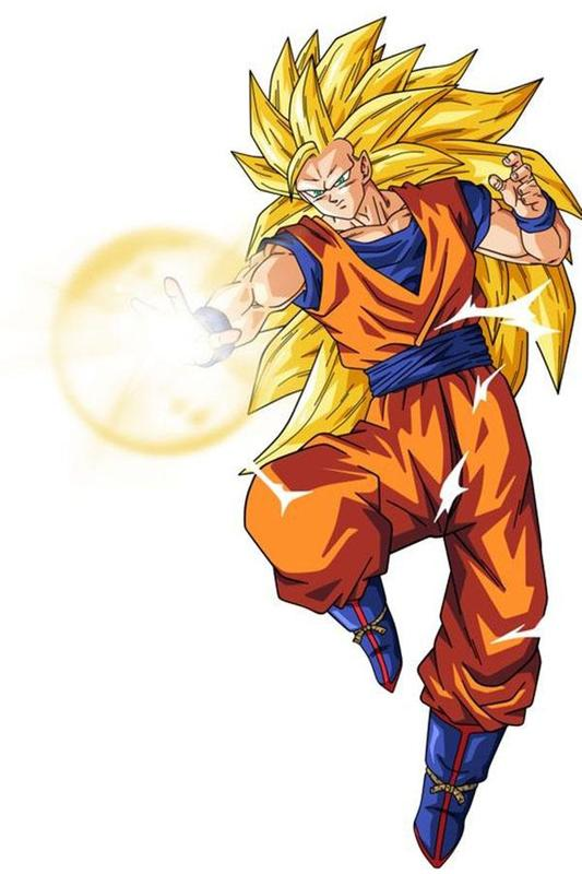 Super Saiyan 3 Wallpaper HD Offline Screenshot
