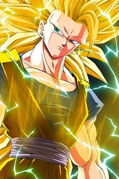 New Super Saiyan 3 Wallpaper HD Screenshot
