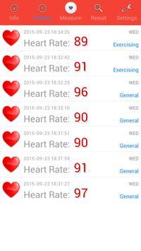 Heart Rate Monitor screenshot 1