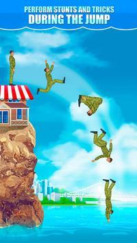 Cliff Flip Diving 2D screenshot 2