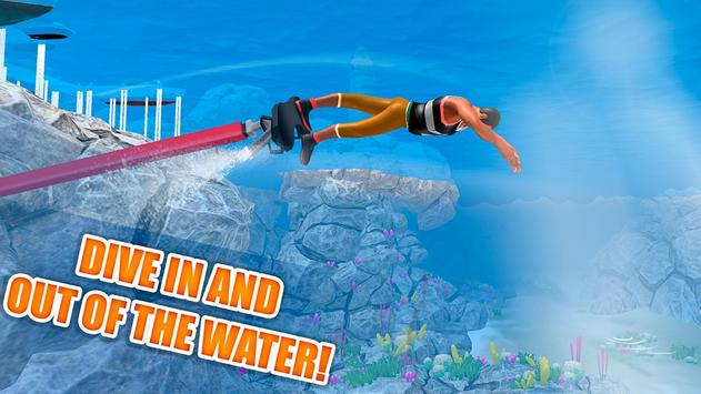 Flyboard Water Stunt Simulator screenshot 1