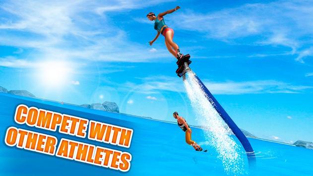 Flyboard Water Stunt Simulator screenshot 2