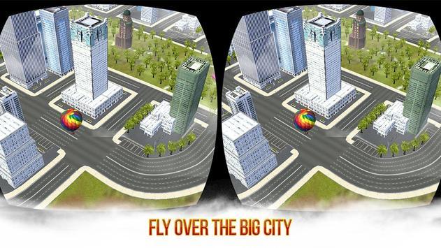 VR Skydiving Flying Air Race: Cardboard VR Game screenshot 4